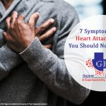 7 Symptoms of Heart attack that you should not ignore-Gujarat Kidney and Superspeciality Hospital