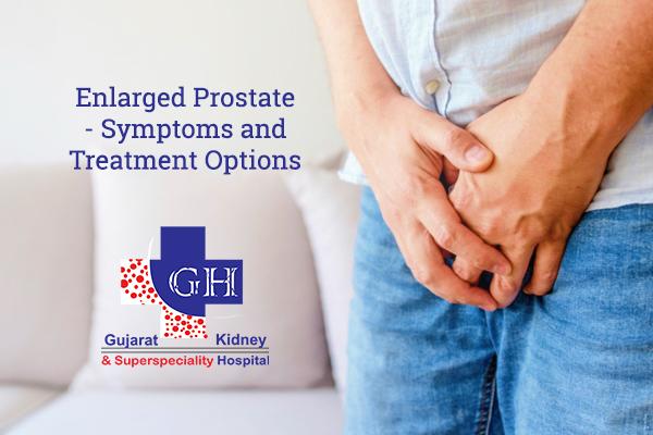 treatment enlarged prostate)
